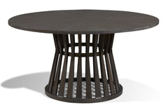 Numera Dining Table in Flannel Finish