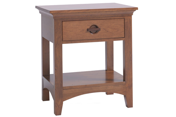 Great Lakes 1-Drawer Nightstand