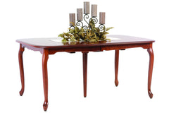 Queen Victoria Leg Dining Table in Cherry with Rich Finish