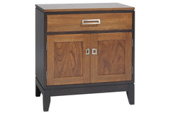 Eastwood Nightstand with One Drawer & Lower Cabinet