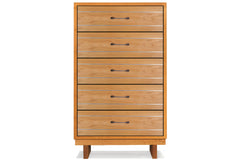 Cable Crossing 5-Drawer Chest in Cherry