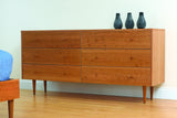 Asher Dresser in Cherry with Natural Finish
