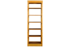 24-Inch Linden Open Bookcase in Cherry with Natural Finish