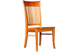 Bedford Classic Side Dining Chair in Cherry with Natural Finish