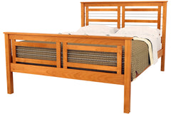 Cable Crossing bed in Cherry