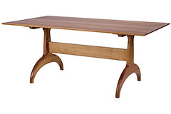 Classic Trestle dining table in Cherry
