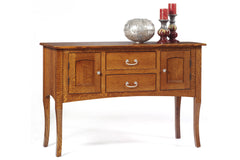 English Shaker Sideboard in Quarter-Sawn White Oak with Classic White Oak Finish