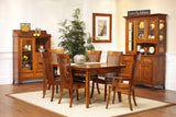English Shaker Dining Set in Quarter-Sawn White Oak with Classic White Oak Finish