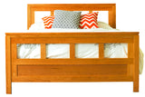 Franklin Bed in Cherry with Natural Finish