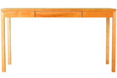Franklin Console Table in Cherry with Natural Finish