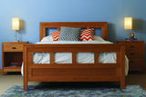 Franklin Bedroom in Cherry with Natural Finish