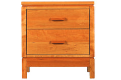 Freeport 2-drawer Nightstand in Cherry with Natural Finish