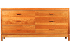 Freeport 6-drawer Chest in Cherry with Natural Finish