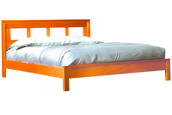 Freeport Bed in Cherry with Natural Finish