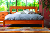Freeport Bedroom Set in Cherry with Natural Finish