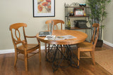 Hanover Dining Set in Oak with Auburn Finish