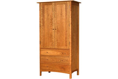 Heartwood Armoire in Cherry