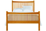 Heartwood Bed with High Footboard in Cherry