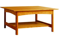 Heartwood Square Coffee Table in Cherry