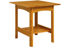 Heartwood Lamp Table in Cherry