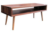40-Inch Mid-Century Coffee Table in Walnut