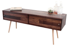 Beautiful yet simplistic mid-century media console