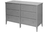 6-drawer Dresser in Angel White