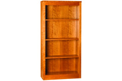 "60""h Linden Classic Bookcase in Cherry with Natural Finish"
