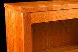 Solid hardwood construction with beautiful, natural wood grains