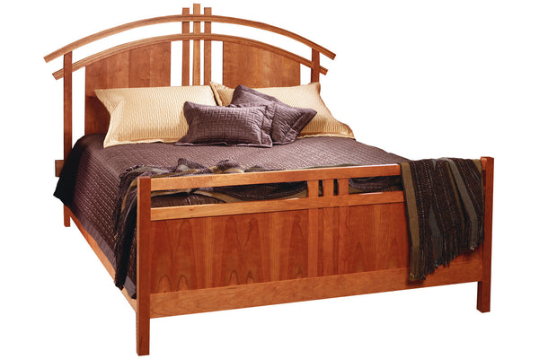 McKinnon Bed with Standard Footboard in Cherry