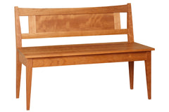 Low Back Shaker Bench in Cherry
