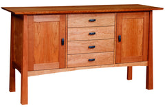 Kyoto 2-Door/4-Drawer Buffet in Cherry