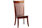 English Shaker Side Chair in Quarter-Sawn White Oak with Classic White Oak Finish