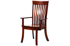 New Classic Mission Arm Chair in Red Oak with Classic Red Oak Finish
