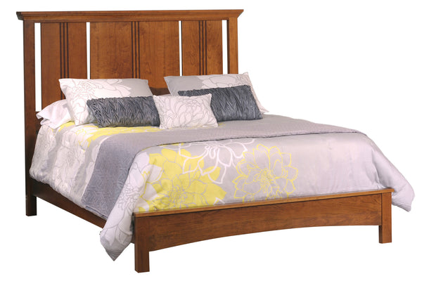 Great Lakes Flat Panel Bed with Low Footboard