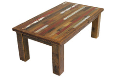 Tartan Coffee Table without Lower Shelf