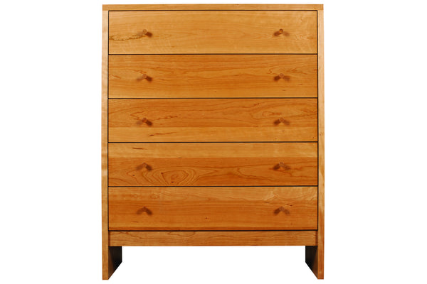 Somerset 3-drawer Chest in Cherry with Natural Finish