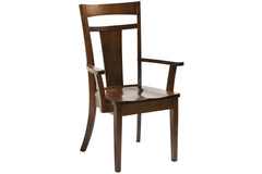 Strasburg Arm Chair in Quarter Sawn White Oak with Asbury Finish