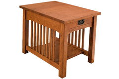 Trend Manor Mission Standard End Table