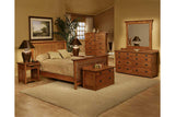 California Mission Bedroom Set with Spindle Bed