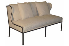 Allende Sofa in Canvas Fabric
