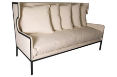 Franz Sofa in Canvas Fabric