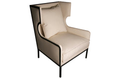Franz Chair with Canvas Fabric