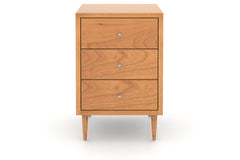 Larssen Midcentury Bedside Table in Cherry