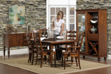 Wentworth Dining Set in Rustic Cherry