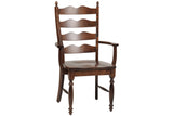 Wentworth Arm Chair in Rustic Cherry