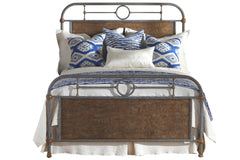 Madaket Bed in Textured Blue Finish