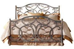 Sconset Bed in Textured Copper Moss Finish