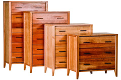 Luna Chest in Cherry with Natural Finish