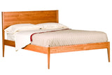 Woodforms Luna Eclipse Bed in Cherry with Natural Finish